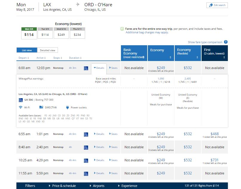 Name:  United Before Basic Economy Fares - 249 W Fare.JPG