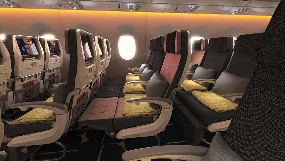 Check Out The New Seats On China Airlines A350