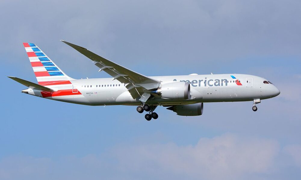 American Airlines Boeing 787-8 New Enhanced Business Class